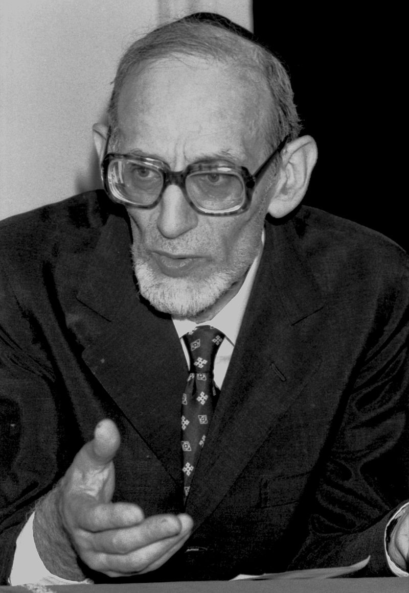 Photographie du Rav Moshe Botschko, verticale