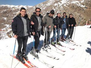 Eleves au ski