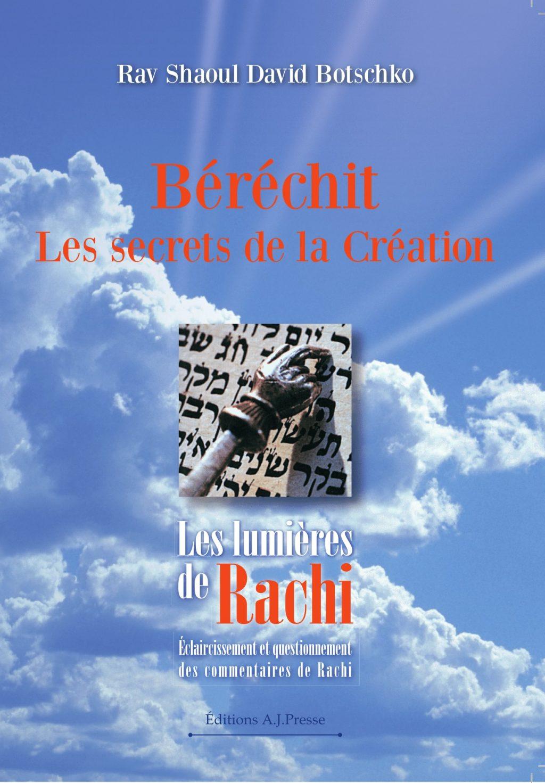 Couverture du livre Les Lumières de Rachi - Béréchit