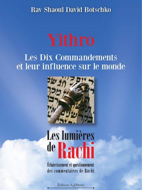 Couverture du livre Les lumières de Rachi - Yithro
